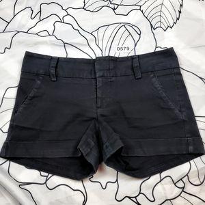 ALICE + OLIVIA Black Mid Rise Short Shorts size 12